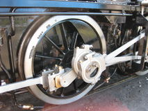 Detail steam train Royalty Free Stock Photo