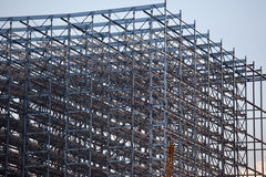 Detail of steel construction Royalty Free Stock Photo
