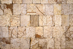 Detail of stone brick wall textured background Royalty Free Stock Photo