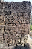 Detail of stone carving at Baphuon temple Royalty Free Stock Photography