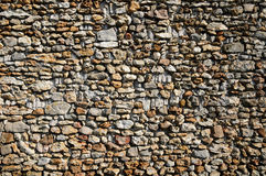 Detail of a stone wall Royalty Free Stock Photography