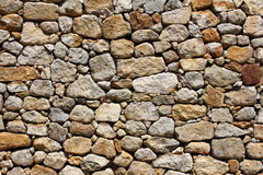 Detail of a stone wall Stock Photo