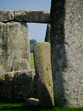 Detail of Stonehenge Ruins Royalty Free Stock Photography