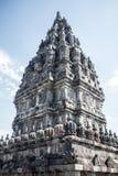 Detail of Stonework at Prambanan Hindu Temple in Indonesia Stock Images