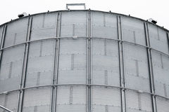 Detail of storage grain silo Royalty Free Stock Photos