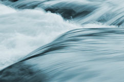 Detail of stream rapids, water background Royalty Free Stock Photos
