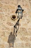 Detail of street lamp in Havana vieja Stock Photos