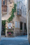 Detail of a streetof Mdina , Malta europe. Detail of a streetof Mdina , Malta Royalty Free Stock Images