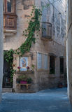 Detail of a streetof Rabat , Malta. Central Stock Photos