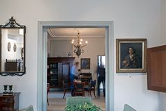 Detail of style room with photographers museumde5000morgen Royalty Free Stock Image