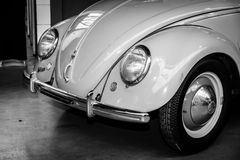 Detail of the subcompact Volkswagen Beetle Stock Photography