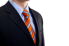 Detail of a suit Royalty Free Stock Images