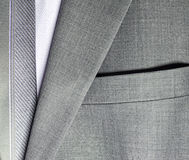 Detail of a suit Royalty Free Stock Photo