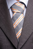 Detail of a suit and tie. Detail of a suit and a tie, isolated stock photos