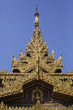 Detail of Sule Pagoda Stock Images
