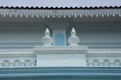 Detail of Sultan Ismail Mosque in Muar Royalty Free Stock Image