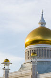 Detail of Sultan Omar Ali Saifuddien Mosque, Brunei Royalty Free Stock Photo