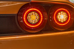 Detail of the Super lletra at the Artega Scalo stand at the Geneva International Motor Show Stock Photos