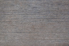 Detail surface of grunge brown wood with edge of plank, backgrou Stock Photos