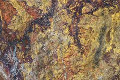 Detail of the surface of the quartz rock. Quartzite stock photography