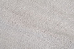 Detail of surface white canvas Stock Photography