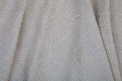 Detail of surface white canvas Royalty Free Stock Images