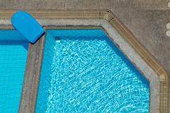 Detail of swimming-pool Royalty Free Stock Image