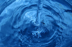 Detail of swirling water Stock Photos