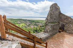 Detail from the Szigliget castle in Hungary Stock Images