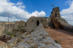 Detail from the Szigliget castle in Hungary Stock Photography