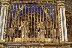 Detail tabernacle upon the altar of San Giovanni in Laterano Stock Photo