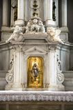 Detail of a tabernacle in a Catholic church. Stock Photos