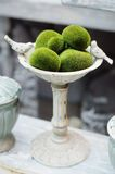 Detail of table set for an event party Royalty Free Stock Image