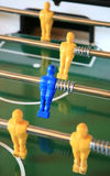 Detail of a table soccer Royalty Free Stock Photos