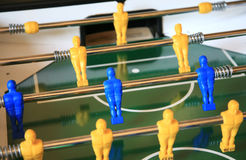Detail of a table soccer Royalty Free Stock Photography