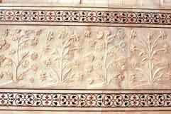 Detail Taj Mahal Royalty-vrije Stock Foto
