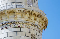 Taj Mahal detail Royalty Free Stock Photo