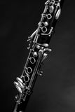 Detail take of a clarinet Royalty Free Stock Photography