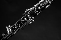 Detail take of a wind instrument Royalty Free Stock Photos