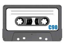 Detail tape cassette Stock Photos