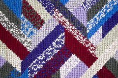 tapestry  stitches. A detail of tapestry stitches Stock Photo