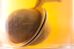 Detail of tea strainer Royalty Free Stock Photos