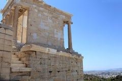 Detail of temple of Athena Nike Royalty Free Stock Photos