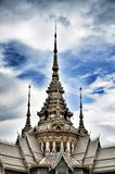 Detail of Temple Maha Wihan luang Pho Toe Royalty Free Stock Photo