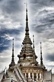 Detail of Temple Maha Wihan luang Pho Toe Stock Images