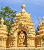 Detail of the temple of Mysore palace in India Royalty Free Stock Images