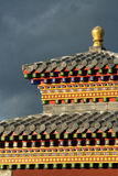Detail of a temple near Kharkhorin Royalty Free Stock Photo