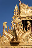 Detail of temple, Nyaung-U, Burma Stock Photos