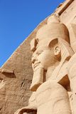 Detail Temple of Rameses II. Abu Simbel, Egypt. Royalty Free Stock Image