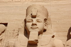 Detail Temple of Rameses II. Abu Simbel, Egypt. Stock Images